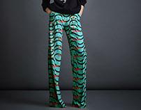 Calçadão Tropical - Textile Design