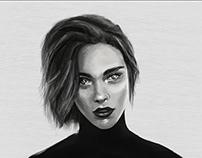Portrait Digital drawing (PS)