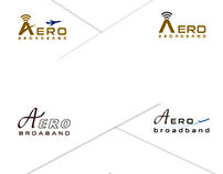 Logos for aero broadband company can be design