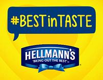 Hellmann's #BestinTaste