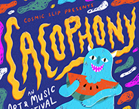 Cacophony Music Festival Poster