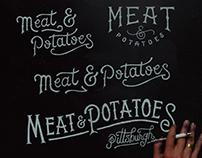 Meat & Potatoes Branding