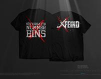 EXFEIND • Göttergatte Nummer Eins • The T-Shirt