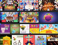 Birthday & Anniversary Greetings