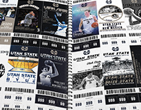 2018 Utah State Basketball Tickets