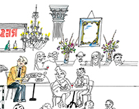 Illustrations for Eater.com