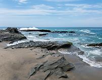 1000 Steps Beach, California, USA