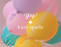 Yay! by Kate Spade