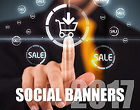 Social Banners For e- Commerce Company