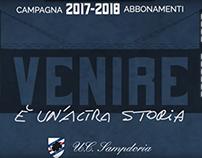 Sampdoria Club Roma Spot campagna abbonamenti 2017_2018