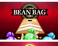Instant Win Games-Bean Bag Toss