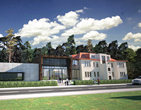 Elementary School Extension in Mežaparks