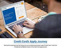 Credit Card Apply Journey