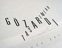 GÖZARDI TASARIMLAR // ARTBOOK DESIGN // 2012