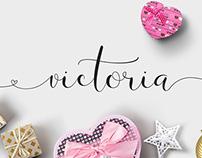 Victoria Script Font