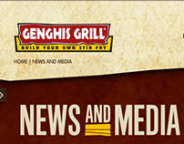 Genghis Grill site