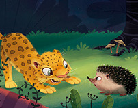Storytime Magazine - The Beginning of the Armadillos