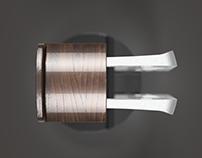 Voronoi Headphone Stand