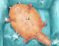 Home happiness - Red cat Vasiliy