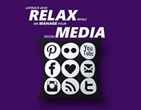 Social Media Marketing Ads-set Design Poster