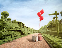 Topiary Train
