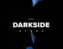 Darkside Tobacco Online Store Concept