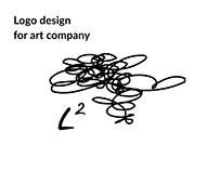 Logo design for art company