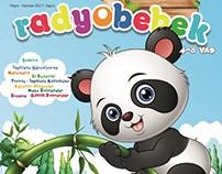 Radyo Bebek Dergisi 1-2-3 Sayılar Kapak Çalışması