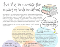 Book Drive Promotion Collateral