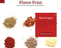 McCormick Flavor Print  App