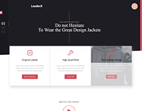LeaderX - Creative Agency Template