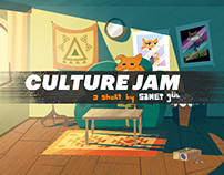 CULTURE JAM - Short Animation / Making Of