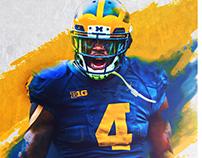 Michigan Football - De'Veon Smith Poster