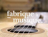 fabrique à musique