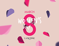 Lancôme Women's Day 2017