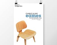 Design Lecture Posters: Charles & Ray Eames