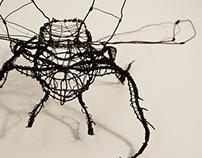 Reindeer Beatle in Wires