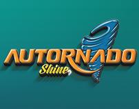 Logo Autornado Shine - Carwash