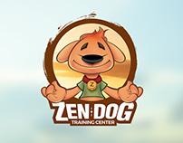 Zen Dog Mascot Design