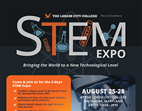 STEM Event Flyer Templates