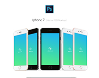 Iphone 7 PSD Mockup - Free Download