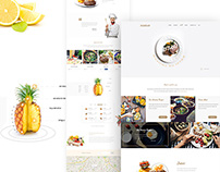Ramdan Restaurant web concept