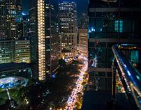 Manila after dusk