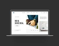 eCommerce Store Free Adobe XD Source