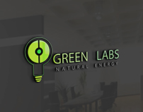 Green Labs Natural Energy Logo