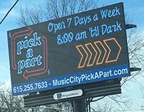 Digital Billboard- Neon Effect