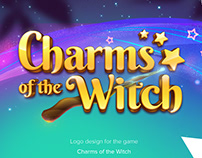 Charms of the Witch - Game Logo Design