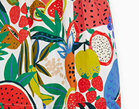 Fruit Print for Zara Kids