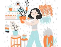 Digital Illustrations Spring 2018