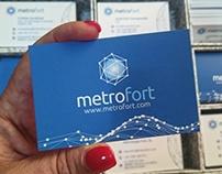Restyling branding para Metrofort